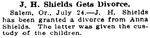 The Oregon Daily Journal (Portland, Oregon), July 24, 1916, page 3, column 5.