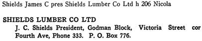 Henderson's Kamloops City Directory, 1914, page 113.