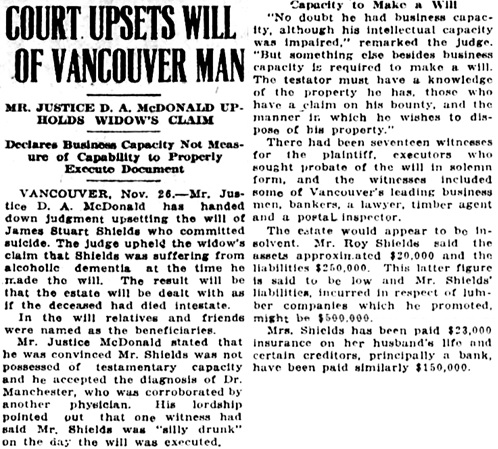 Victoria Daily Colonist, November 27, 1924, page 2, column 5; http://archive.org/stream/dailycolonist1124uvic_22#page/n1/mode/1up.