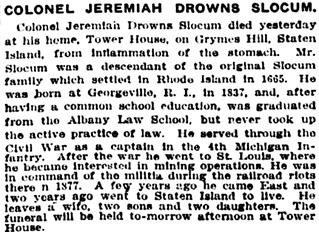 New York Tribune, March 13, 1907, page 7, column 4.