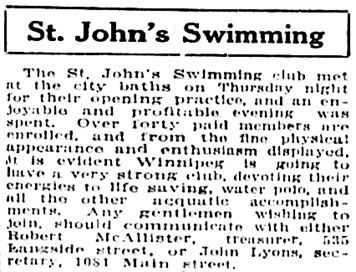 The Winnipeg Tribune, April 19, 1913, page 6, column 3.
