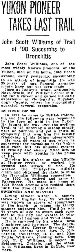 Vancouver Sun, March 4, 1923, page 16, column 3; https://news.google.com/newspapers?id=OyllAAAAIBAJ&sjid=mogNAAAAIBAJ&pg=1413%2C314478.