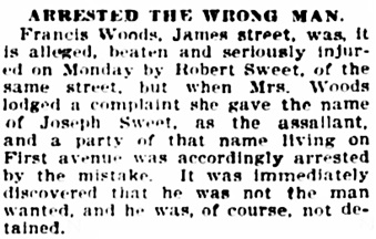 The Ottawa Citizen, October 18, 1899, page 8, column 4.