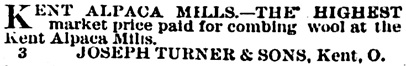 The Summit County Beacon (Akron, Ohio); August 13, 1879, page 2, column 9.