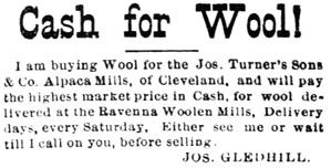 The Democratic Press (Ravenna, Ohio); July 6, 1892, page 3, column 8.