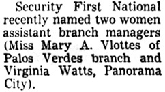 The Los Angeles Times, December 3, 1959, page 37, column 7.