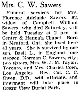 Vancouver Province, November 23, 1942, page 17.