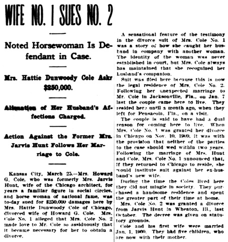 The Times-Democrat, (New Orleans, Louisiana), March 26, 1910, page 1, column 6.