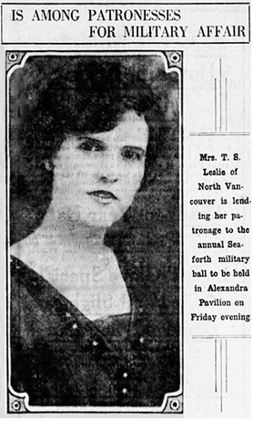 Vancouver Daily World, January 17, 1924, page 7, columns 4-5.