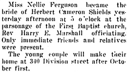 The Capital Journal (Salem, Oregon), September 17, 1914, page 3, column 3.