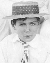 Owen Sawers, 1901, detail from West End Boys Cricket Club and Laing's School, University College, Victoria; Vancouver City Archives, LP 222; http://searcharchives.vancouver.ca/west-end-boys-cricket-club-and-laings-school-university-college-victoria.