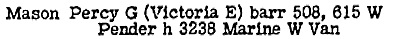 British Columbia and Yukon Directory, 1947, page 873.