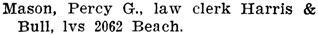 Henderson's City of Vancouver Directory, 1906, page 483.