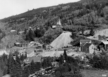 Pioneer Gold Mine, 1937; Metallogeny of the Bridge River Mining Camp; Ministry of Energy, Mines and Petroleum Resources; http://www.empr.gov.bc.ca/mining/geoscience/minfile/productsdownloads/publicationslist/pages/bridge.aspx.