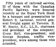 Richmond Review (Richmond, British Columbia), May 4, 1934, page 4, column 3.