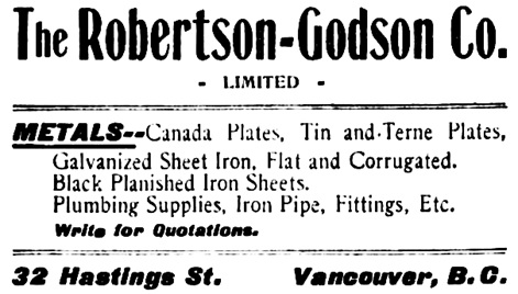 Vancouver Daily World, October 31, 1901, page 5, columns 1-2.