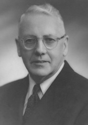 Russell Richards, 1949; Photograph by Weir (Trail, British Columbia); West Vancouver Archives, Reference Code: 0003.0053.DWV; http://archives.westvancouver.ca/permalink/15371/default.aspx.