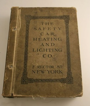 Safety Car and Heating Lighting Company Catalog, about 1905, 2 Rector Street, New York City; https://www.pinterest.ca/pin/481251910153602878/.