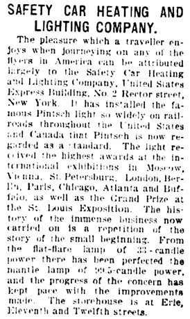 Staunton Daily Leader (Staunton, Virginia), May 23, 1908, page 18, column 6.