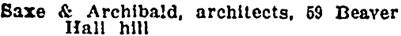Montreal City Directory, 1906-1907, page 1509.