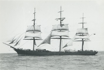 "The ""Brilliant"" under sail [about 1888], State Library of South Australia, A.D. Edwardes Collection, PRG 1373/3/11; https://collections.slsa.sa.gov.au/resource/PRG+1373/3/11."