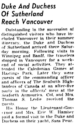 The Winnipeg Tribune, August 9, 1939, page 9, column 6.