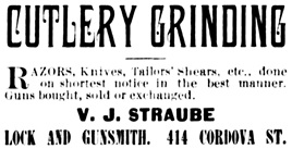Vancouver Daily World, March 13, 1889, page 2, column 5.