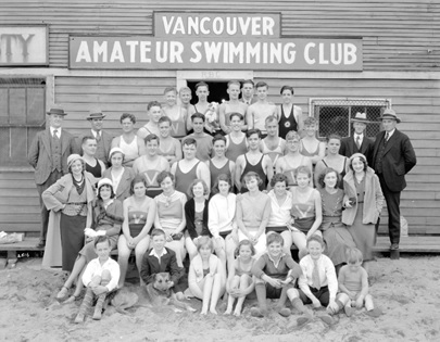 Vancouver Amateur Swimming Club, 1932 swimming season; Vancouver City Archives CVA 99-4182; https://searcharchives.vancouver.ca/vancouver-amateur-swimming-club-swimming-season-1932.
