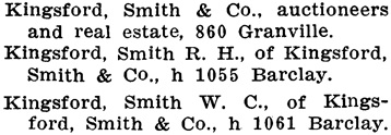 Henderson's City of Vancouver Directory, 1907, page 550.