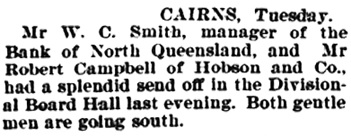 North Queensland Register (Townsville, Queensland), May 13, 1896, page 18, column 1; https://trove.nla.gov.au/newspaper/article/85415704.