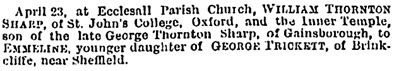 John Bull (London, England), Saturday, April 26, 1879, page 270.