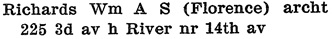W.A. Jeffries, Kamloops City Directory, 1913, page 68.