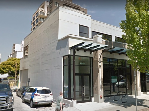 1011 and 1015 Denman Street; Google Streets; searched November 17, 2018; image dated May 2015.