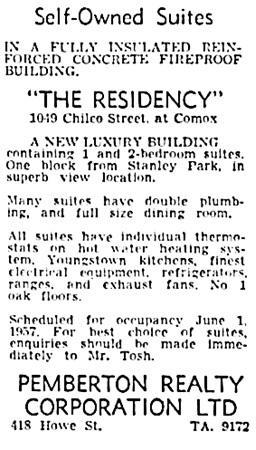 Vancouver Sun, April 11, 1957, page 35, column 6.