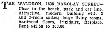 Vancouver Sun, May 30, 1931, page 28, column 7.