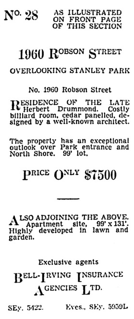Vancouver Sun, March 30, 1939, page 22, column 5.