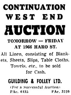 Vancouver Sun, June 11, 1953, page 38, column 7.