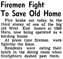 Vancouver Sun, September 25, 1946, page 1, column 2.