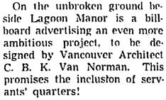 Vancouver Sun, March 30, 1953, page 23, column 6.