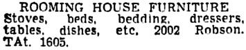 Vancouver Sun, June 24, 1950, page 38, column 1.