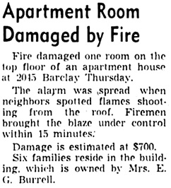 Vancouver Sun, September 22, 1950, page 51, column 7.
