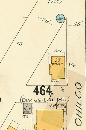 810 Chilco Street, detail from Chilco Street to Burrard Inlet to Stanley Park boundary to Pendrell Street; Vancouver City Archives, Plate 62; 1972-582.37; https://searcharchives.vancouver.ca/plate-62-chilco-street-to-burrard-inlet-to-stanley-park-boundary-to-pendrell-street.