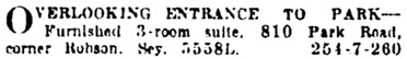 Vancouver Sun, September 17, 1923, page 10, column 7.