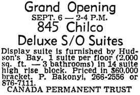 Vancouver Sun, September 5, 1970, page 47, column 7.