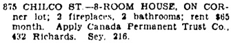 Vancouver Sun, January 19, 1929, page 21, column 2.
