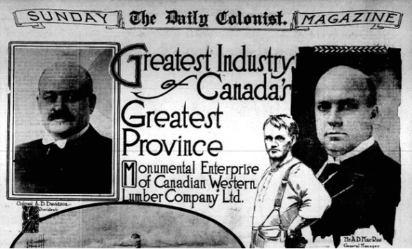 Victoria Daily Colonist, September 22, 1912, Sunday Magazine, page 1; http://archive.org/stream/dailycolonist57241uvic#page/n24/mode/1up.