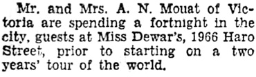 Vancouver Sun, January 5, 1934, page 8, column 1.