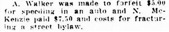 Vancouver Daily World, December 6, 1910, page 22, column 4.