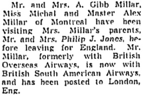 Toronto Globe and Mail, September 4, 1948, page 14, column 3.