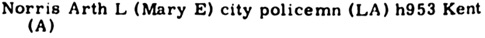 Pasadena, California, City Directory, 1959, page 484, column 2.